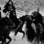 Hommage à Sitting Bull, à Big Foot et aux Sioux massacrés à Wounded Knee, dans le Dakota du Sud, en 1980