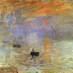 Claude Monet - Impressione sull'alba - 1873 - Olio su tela