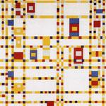 Piet Mondrian - Broadway Boogie-Woogie - 1942/1943 - Olio su tela
