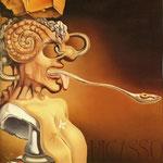 Ritratto di Picasso - 1947 - Olio su tela