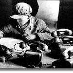 Contremaître dans une aciérie d'Anshan, Chine 1957