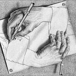 Mani che disegnano 1948