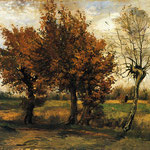 Autumn Landscape with Four Trees, 1885