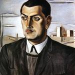 Ritratto di Luis Buñuel - 1924 - Olio su tela