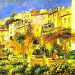 Terrazza a Cagnes - 1905 - Olio su tela