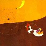Paesaggio (La lepre) - 1927 - Olio su tela
