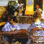 La lezione - 1874 - Olio su tela