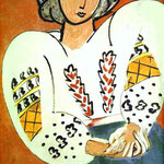 La camicetta rumena - 1940 - Olio su tela