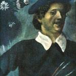 Autoritratto con pennelli - 1909/1910 - Olio su tela