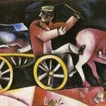 Commerciante di bestiame - 1912 - Olio su tela