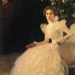 Sonja Knips - 1898 - Olio su tela