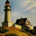 Edward Hopper - Casa e faro