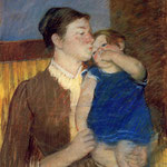 Mother's Goodnight Kiss, 1888