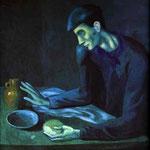 La colazione di un cieco - 1903 - Olio