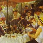 La colazione dei canottieri - 1881 - Olio su tela