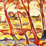 Georges Braque - Paesaggio a La Chotat (1907)