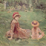 In the Garden at Maurecourt, 1884