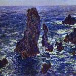 Claude Monet - Scogliere a Belle-Ile - 1886 - Olio su tela