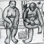 Kazimir Malevich - Nel bagno (1910)