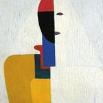 Kazimir Malevich - Busto di donna