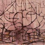 Piet Mondrian - Alberi in fiore - 1912 - Olio su tela