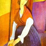 Amedeo Modigliani - Ritratto di Jeanne Hébuterne - 1919 - Olio su tela
