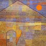 Ad Parnassum. 1932. Oil on panel. 100 x 126 cm. Paul Klee Foundation, Kunstmuseum, Berne, Switzerland.
