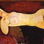 Amedeo Modigliani - Nudo disteso - circa 1919 - Olio su tela
