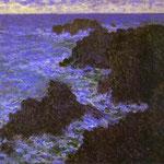 Claude Monet - Gli scogli di Belle-Ile - 1886 - Olio su tela