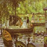 La Grenouillère - 1869 - Olio su tela