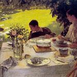 Colazione in giardino, 1883