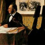 Louis-Marie Pilet Violoncellista en la orquesta de la Opera