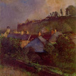 Houses at the Foot of a Cliff (Saint-Valery-sur-Somme)