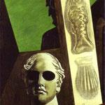Ritratto preveggente di Guillaume Apollinaire - 1914 - Olio su tela