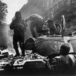 Russian Tank in Prague_ , 1968