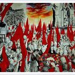 Renato Guttuso - I Funerali di Togliatti, 1972