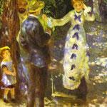 L'altalena - 1876 - Olio su tela