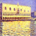 Claude Monet - Venezia - Il Palazzo Ducale - 1908-1912 - Olio su tela