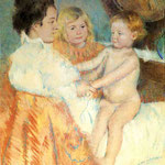 Mother, Sara and the Baby_