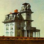Edward Hopper - Casa della ferrovia