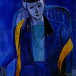 Ritratto dell'artista - 1912/13 - Olio su tela