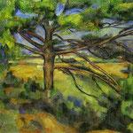 Pino nei pressi di Aix - 1890 - Olio su tela