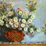 Claude Monet - Crisantemi - 1878 - Olio su tela