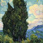Cypresses, 1889