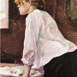 La lavandaia - 1889 - Olio su tela
