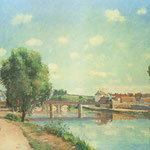The Railway Bridge at Pontoise, 1873