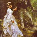 La passeggiata - 1870 - Olio su tela
