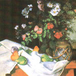 Still Life with Flowers and Fruit, 1890