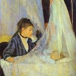 La culla - 1873 - Olio su tela