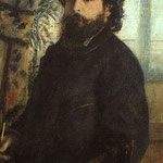 Portrait of Claude Monet, 1875